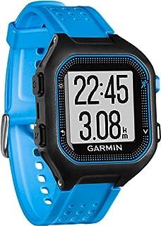 Garmin Forerunner 25 Reloj Deportivo, Negro/Azul, L (B0144D4VSU) | Amazon Products