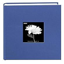 Pioneer Pocket Fabric Frame Cover Photo Album, Sky Blue, 22,9 x 22,9 cm