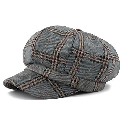 d3f1bf6c4 Gisdanchz Gorra Mujer Sombrero Invierno Ropa Vintage Berets For Women  Summer Hats Newsboy Cap Womens Hats Newspaper Boy Hat Flat Cap Winter Hats  ...