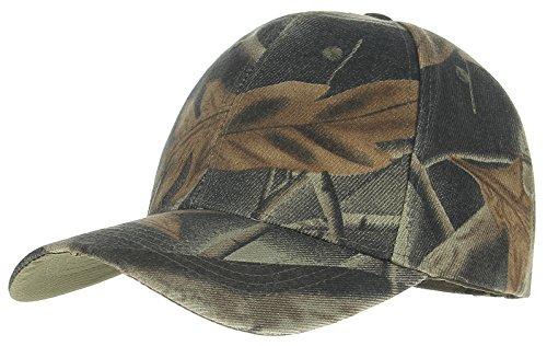 GEMVIE Herren Baseball Kappe Snapback Cap Militär Tarnfarbe