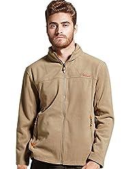 Zicac Veste jacket manches longues en laine Homme pour l`automne l`hiver