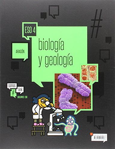 Biología y Geología 4.º ESO -( Dos Volúmenes)- Aragón (Somoslink) - 9788414003053