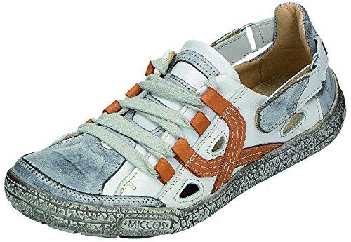 MICCOS Shoes Chaussures pour Femme Sportif D. Chaussures basses Gris - grau/weiss/braun