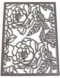 JiaMeng Plantillas para Estarcir Gofrado Troquelado Kit Almohadilla de Papel en Relieve Grabado Plantillas de moldes