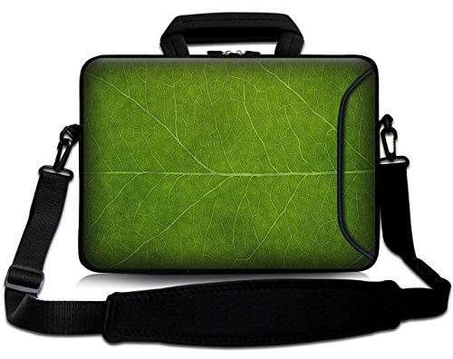 Sidorenko 17-17,3 Zoll Laptoptasche | Laptop Umhängetasche: Stilvolle Designer - Computer - Notebook-Schultertasche aus Neopren Schmutz- und Wasserabweisend | Notebook-Tasche mit Außentasche für Zubehör (Neopren-laptop-taschen)