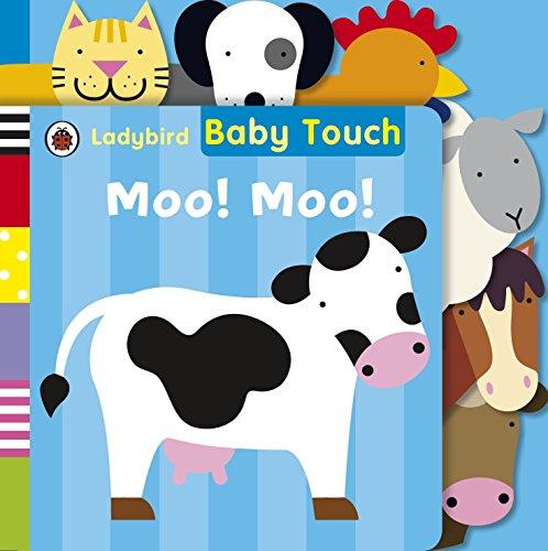 Baby Touch: Moo! Moo! Tab Book por Ladybird