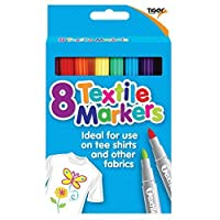 AbbeyShake 2X textile fabric markers - set of 8 assorted colours