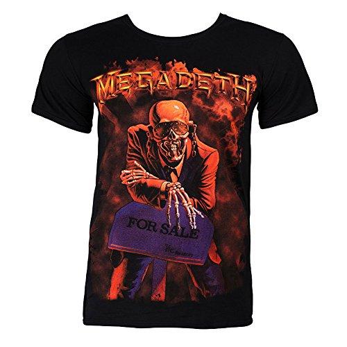 T Shirt Megadeth Peace Sells (Nero) - Small