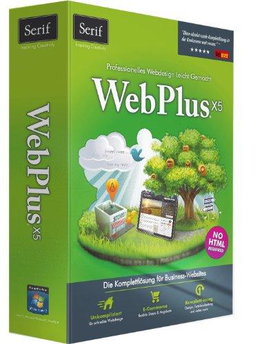 Avanquest Serif WebPlus X5