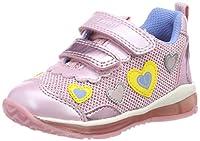 primavera estate scarpa realizzata in pelle. Suola in gomma di spessore 2,5 centimetri. chiusura a velcro. larghezza normale e peso 110 gr (dimensione 20)