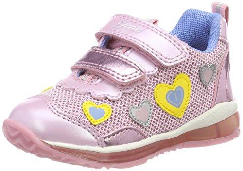 Geox Baby Mädchen B Todo Girl A Sneaker, Pink (Lt Pink), 26 EU