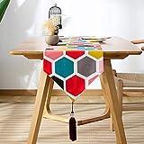 Serired Tischläufer Kreatives Design Tabelle Flagge Kung Fu Tee duftende Matte Bett Flagge Geschirrtuch