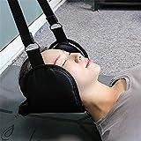 ZXL Hängematte für den Kopf Nacken Atmungsaktive tragbare Hängematte Zugvorrichtung Unterstützung der Halshaltung ohne Geruch Nackenmassagegerät