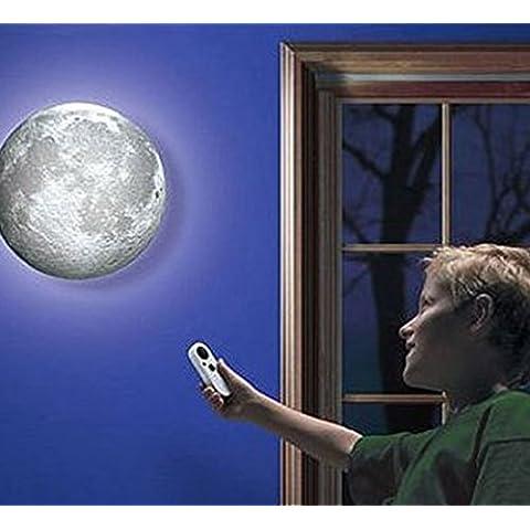 Ailiebhaus illuminato luna lampada da parete con (Luna 2 Luce)
