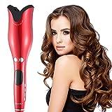 Air Spin N Curl 1 Zoll-keramischer drehender Lockenwickler, Teepao automatischer Lockenstab-Spindel-Haarlockenwickler für alle Haartypen justierbare Temperatur Berufsspinnen-Haarlockenwickler