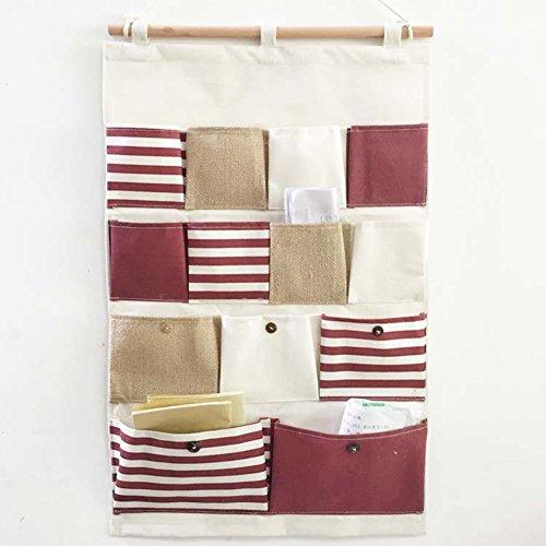 Highdas borsa portaoggetti da parete organizzatore da appendere con 13 tasche - Portaoggetti da parete ikea ...