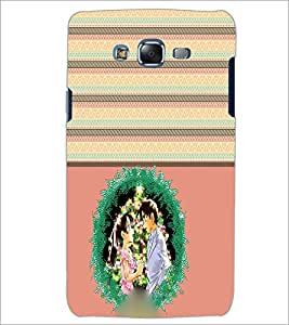 PrintDhaba Couple D-3772 Back Case Cover for SAMSUNG GALAXY J5 (Multi-Coloured)