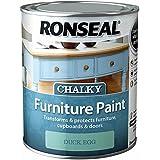 Ronseal rslcfpde750750ml Chalky muebles pintura–Huevo De Pato