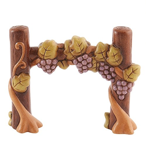Thun® - vigna con uva - statuine presepe classico - ceramica - i classici