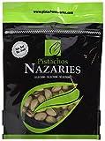 Pistachos Nazaríes - Pistachos Españoles de gran calidad, cuidadosamente seleccionados y tostados SIN SAL. Muy crujientes. (Pack de 2 bolsas de 250gr cada una).
