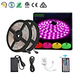 DONG LED-Streifenlichter 10m RGB 300 Hintergrundbeleuchtung IP67 wasserdicht mit Fernbedienung für Zuhause