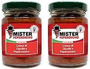 Crema di Cipolle Rosse di Tropea e Peperoncino Calabrese - Mister Peperoncino