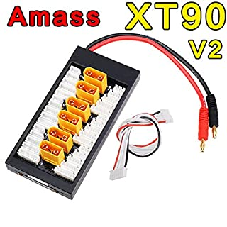 Bluelover Amass V2 XT90 Plug Lipo Parallel Charger Board PL8 Balance Cable