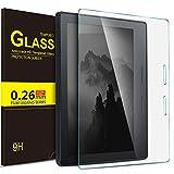 IVSO Nuovo e-reader Kindle Oasis Pellicola Protettiva, Schermo in Vetro Temperato per Aamzon Kindle Oasis (9ª generazione, versione 2017) Tablet (Tempered Glass - 1 Pack)
