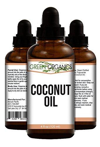 Pure Huile de noix de coco - ultime Cheveux, visage, peau et crème hydratante