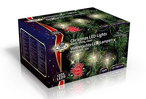 Guirlande 120 LED - 11m - Neuf - 120 Led Blanches - 220v