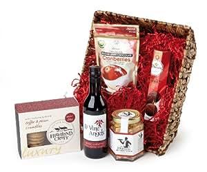 Highland Fayre Mistletoe and Wine Christmas Hamper