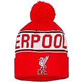 Uni Giftware Junior offiziellen Liverpool FC Mütze–Rot mit Text & Wappen