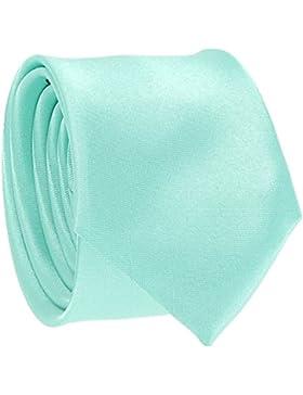 cravateSlim - Corbata - para hombre verde verde aguamarina Talla única