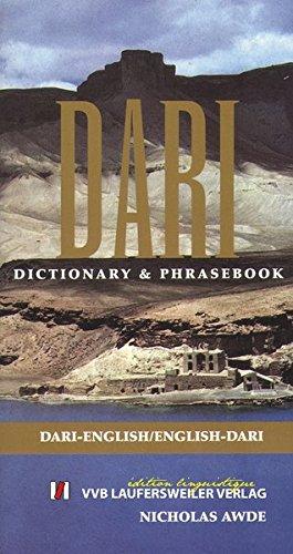 Awde, N: Wörterbuch Dari - Englisch und  Englisch - Dari /Da