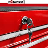 Holzinger Werkzeugwagen HWW1007KG – schwere Ausführung (7 Schubfächer) - 4