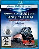 Amerikanische Züge und Landschaften - Dampflok Giganten 3D [3D Blu-ray]