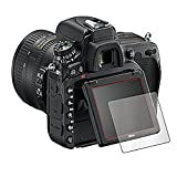 YINGNOUST Tempered Glass Ultra Thin 9H Anti Shock Glass Protective Film Screen Protector For DSLR Canon 200D (0.26 Mm)