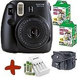 Fuji Instax Mini 8 Schwarz Sofortfilmkamera