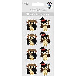 Ursus 564000313creativos Accesorios Halloween, búhos, diseño 313