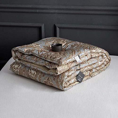 JING Herbst-und Winterimmitation Goose Down Winter ist digital gedruckt von Zwei Menschen,Metallic -