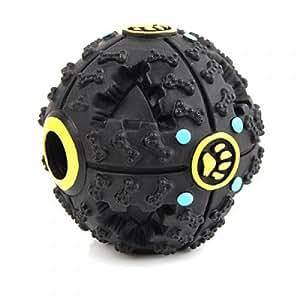 TOOGOO(R) Haustier Hundefutter Ball Spielzeug mit Klang