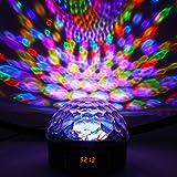 luniquz 27W DMX512RGB LED Leuchtmittel von Bühne Stimmungslicht Projektor Spot mit Fernbedienung für Hotels Disco Bar Party Geburtstag Hochzeit Party