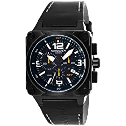 Torgoen Swiss Herren T27101 T27 Chronograph Black Ion-Plated Aviation ansehen