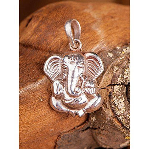 Ganesha, Anhänger 925 Sterling Silber, L 2,2 cm Esoterik Schmuck günstig kaufen