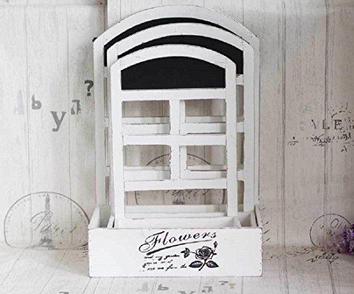 New day®-Mensola giardinaggio legno ricevere un negozio di scatola contenuti fiore, fiore ornamento domestico manufatti per l