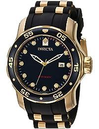 Invicta Pro Diver Men's Analogue Classic Automatic Watch with Silicone Strap – 23628
