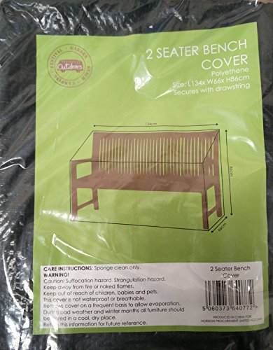 2-Sitzer-Bank–polyethene–134cm x 86cm x 66cm