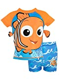 Disney Costume da bagno per Ragazzi a Due Pezzi Alla ricerca di Nemo Blu 2 - 3 Anni