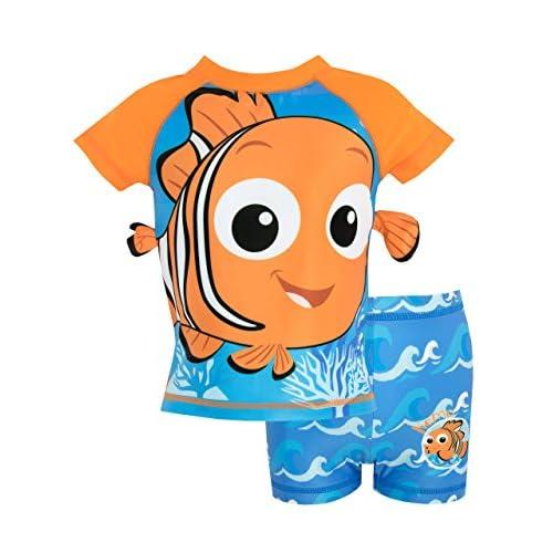 Disney Bañador de Dos Piezas para niño Buscando a Nemo 11