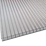 Placa o Panel de policarbonato Celular - 6mm (Incoloro/Transparente) - 1195x595mm